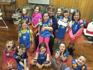 Kaiser Home Community Girl Scouts